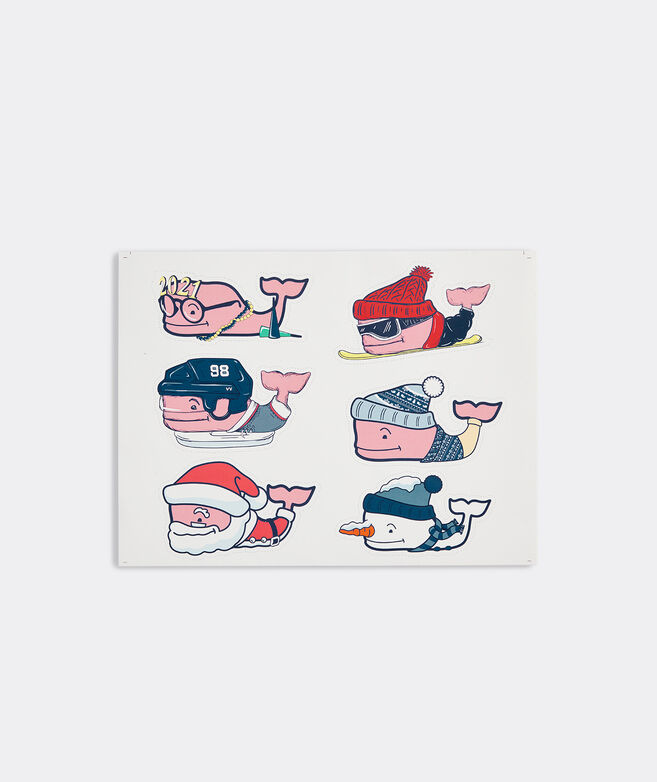 Character Whales Sticker Sheet