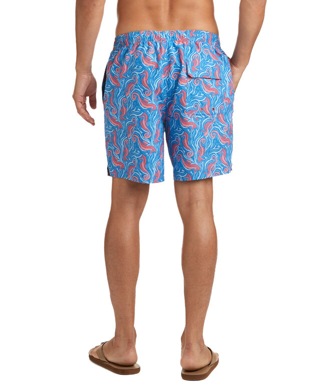 Seahorse Printed Chappy Trunks