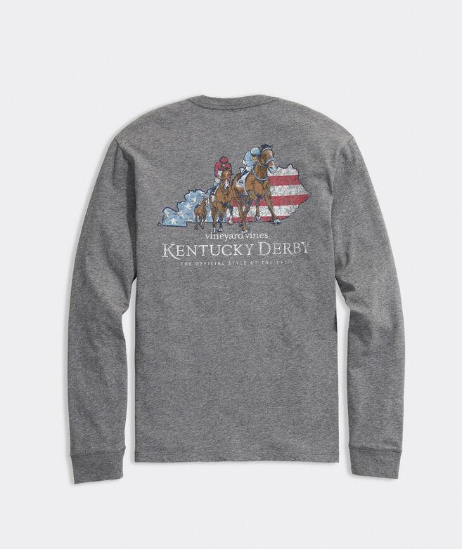 Kentucky Derby 2021 Americana Derby Long-Sleeve Pocket Tee