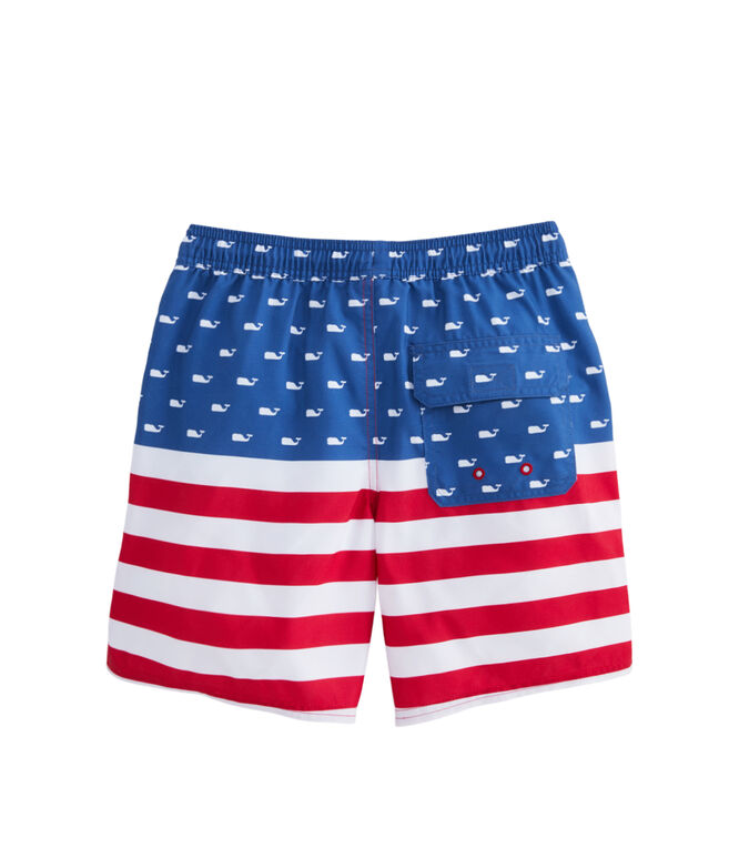 Boys USA Chappy Trunks