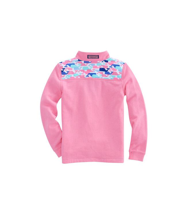 Girls Multi Whale Shep Shirt