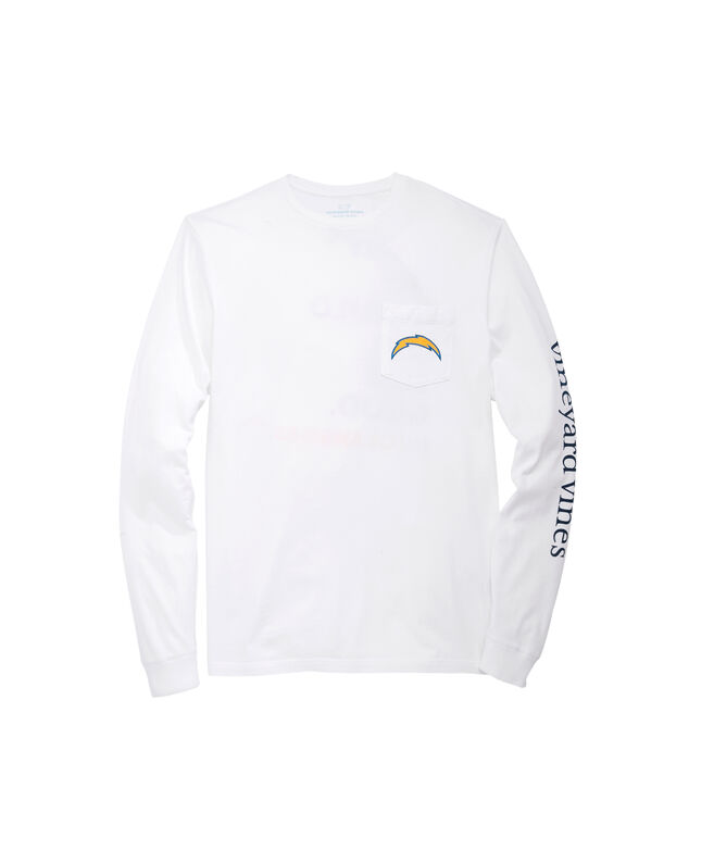 Los Angeles Chargers Long-Sleeve EDSFTG T-Shirt