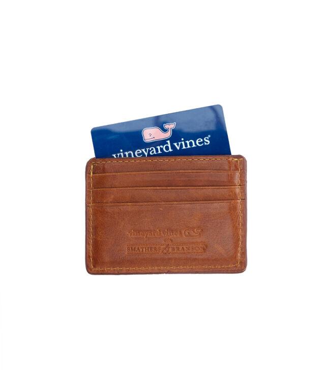 vineyard vines x Smathers & Branson Patchwork Needlepoint Card Case