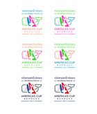 America's Cup Sticker Sheet (Set of 6)