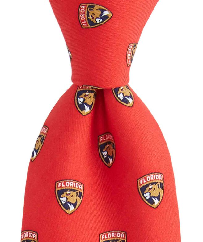 reputable site 23b16 6a1e5 Florida Panthers Logo Tie