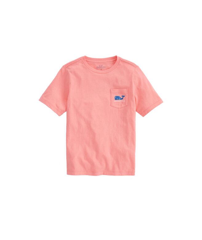 Boys Lobster Buoys Whale Fill Pocket T-Shirt