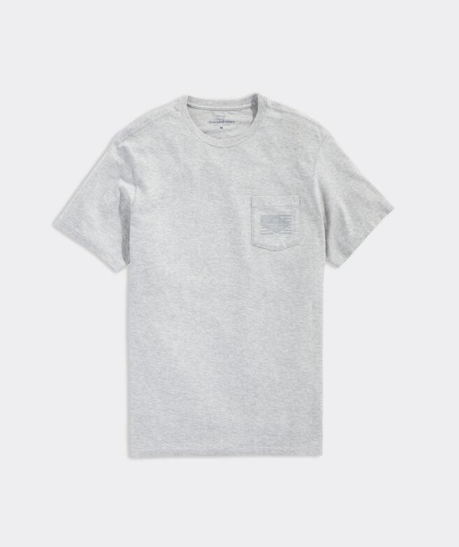 Diamond Flag Short-Sleeve Pocket Tee
