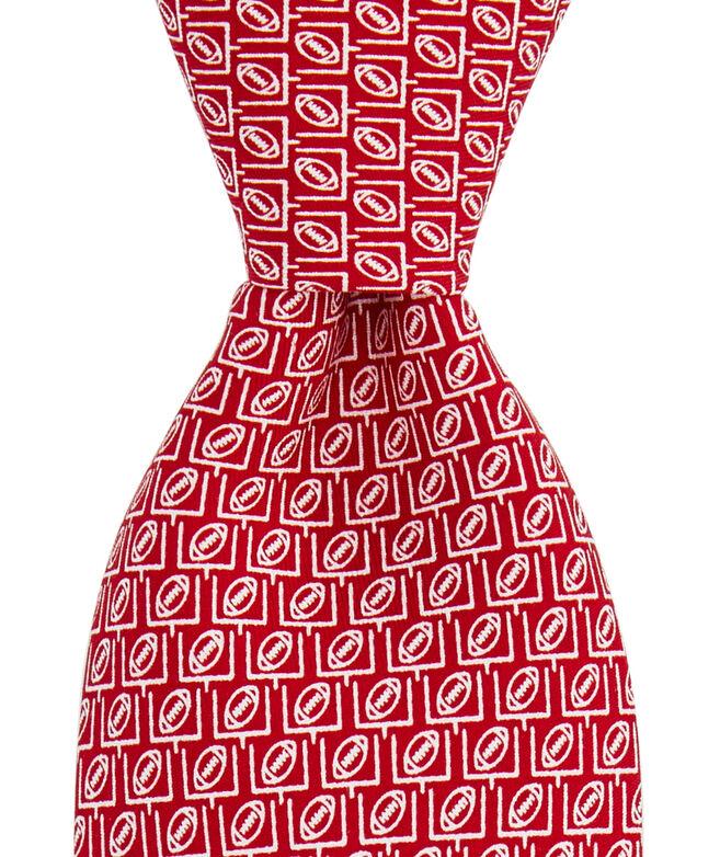 Boys Field Goal Geo Printed Tie
