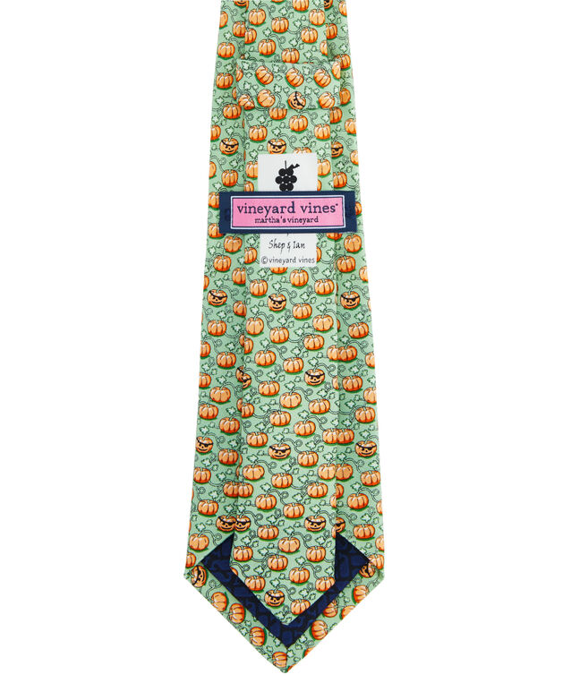 Boys Pumpkin Patch Tie