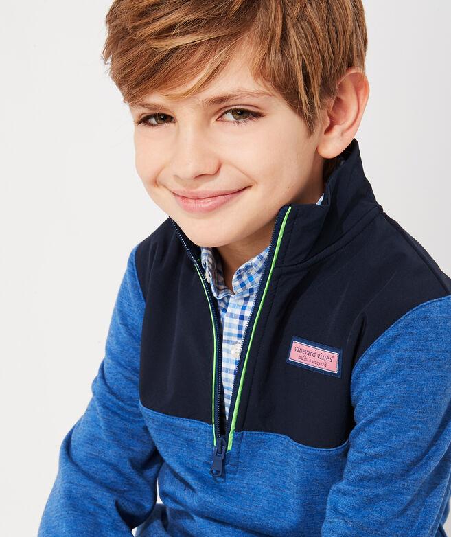 Boys' 1/2-Zip Shep Shirt