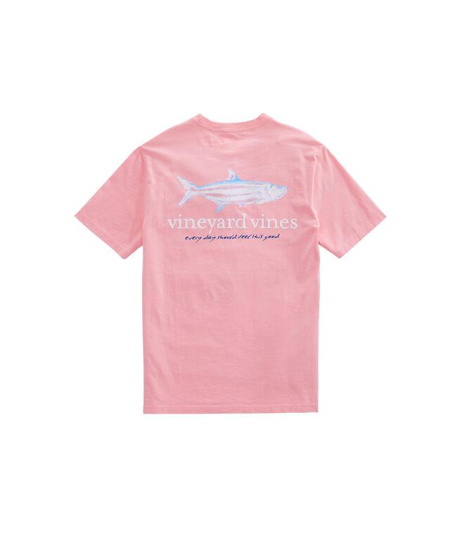 Painted Tarpon Pocket T-Shirt