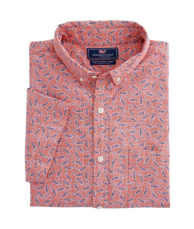 Short-Sleeve Mini Bluefish Slim Murray Shirt