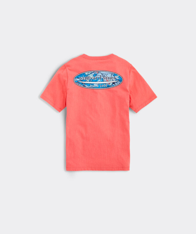 Boys' Sailfish & Birds Surf Logo Short-Sleeve Pocket Tee