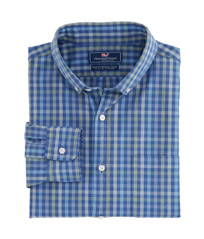 Hawksbill Tattersall Slim Murray Shirt