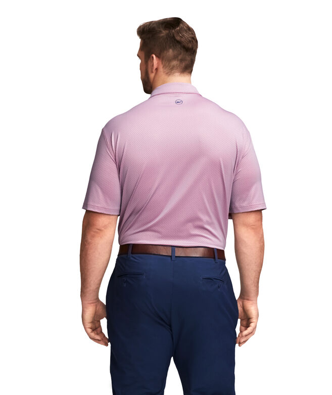 Big & Tall Printed Sankaty Performance Polo
