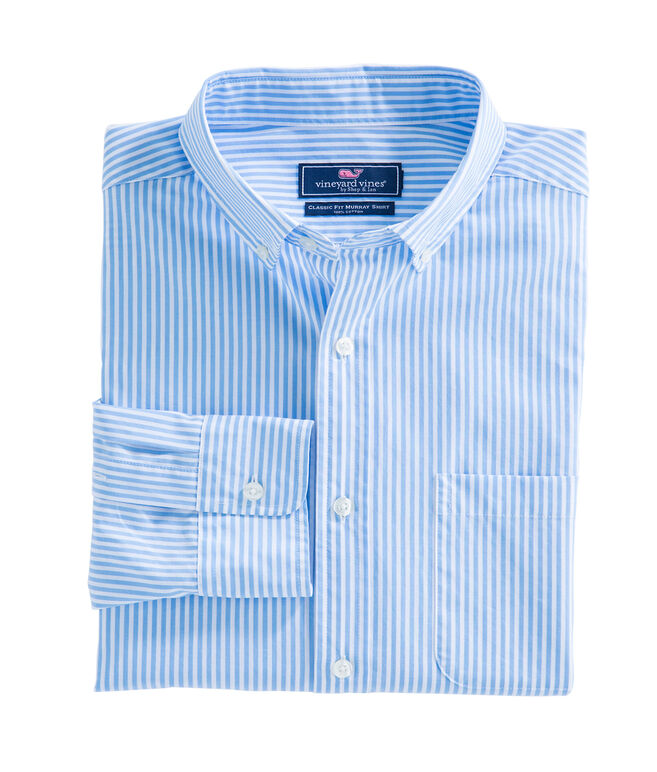 Swordfish Stripe Classic Murray Shirt