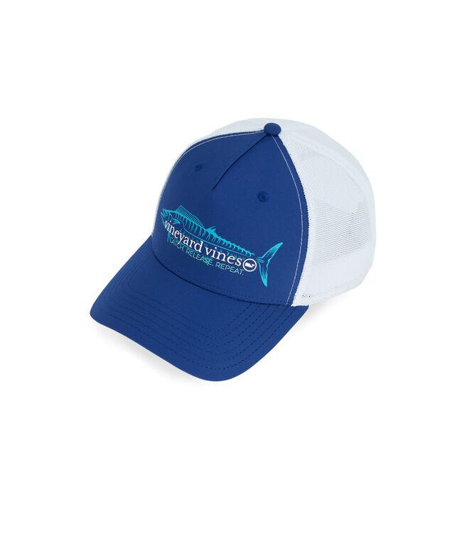 Catch & Release Wahoo Trucker Hat