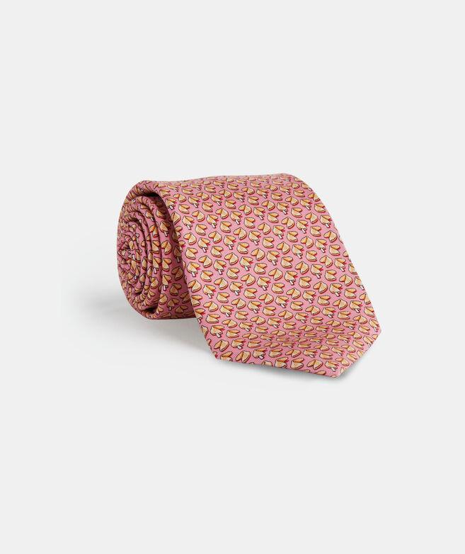 Fortune Cookie Printed Tie