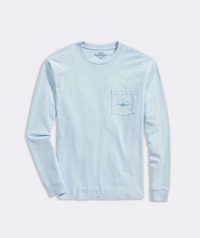 Casting Long-Sleeve Pocket Tee
