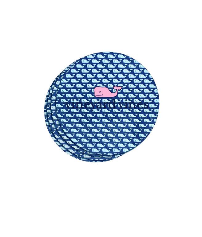 Vineyard Whale Coasters