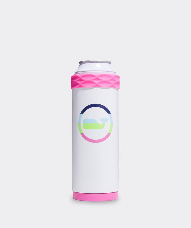 Neon Whale Dot Corkcicle Slim Arctican