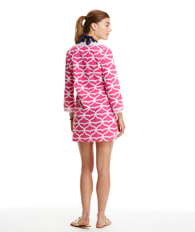 bd995a8e2658 Shop Whale Tail Embroidered Tunic at vineyard vines