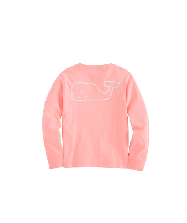 Boys Long-Sleeve Vintage Whale T-Shirt