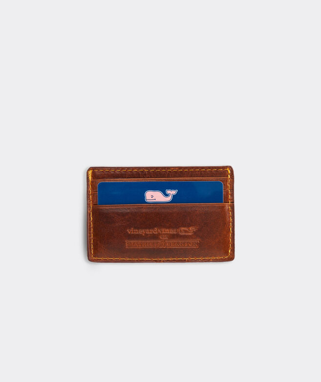 vineyard vines x Smathers & Branson American Flag Card Case