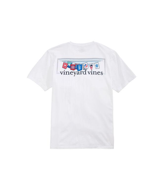 Chicago Cubs Bar Flag T-Shirt