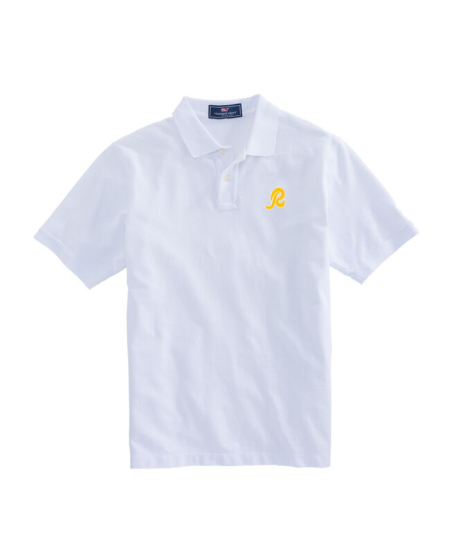 Washington Redskins Stretch Pique Polo