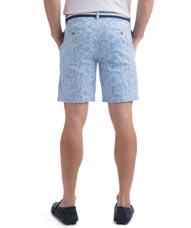 7 Inch Linear Marlin Print Breaker Shorts