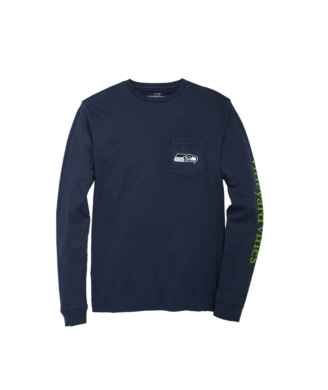 Seattle Seahawks Long-Sleeve EDSFTG T-Shirt