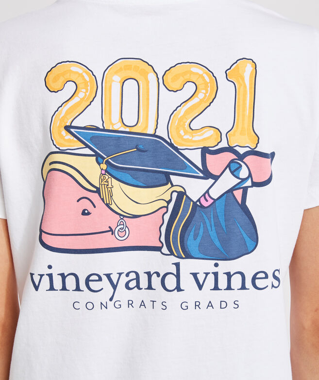 Short-Sleeve Graduation Whale Pocket Tee