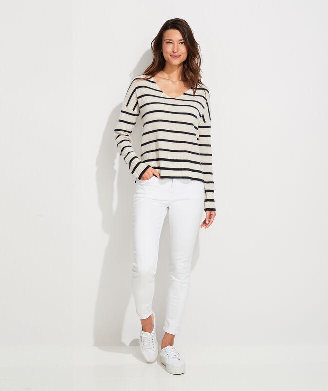 Lofty Cashmere V-Neck Sweater