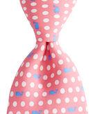 Boys Polka Dot Whale Printed Tie