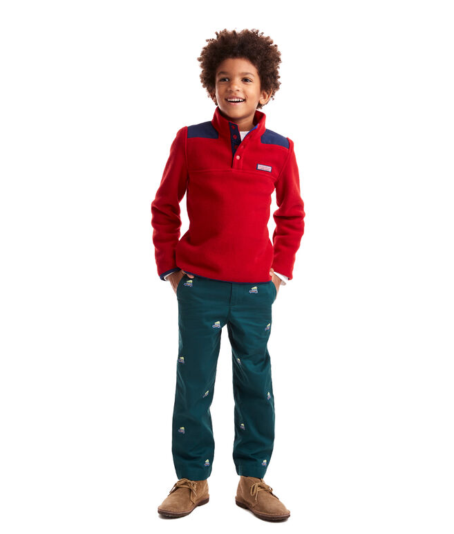 Boys Snap Fleece Shep Shirt