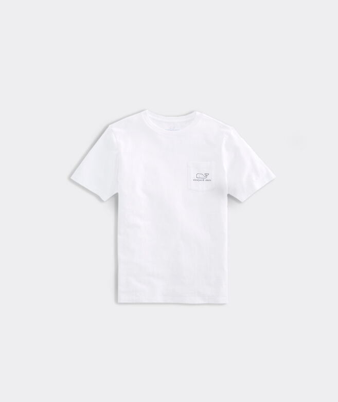 Kids' Vintage Whale Pocket Tee