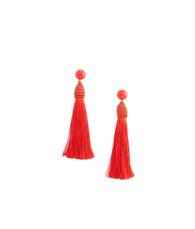 Single Tassel Earrings