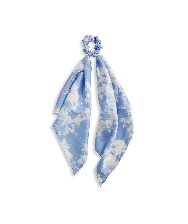 Tie-Dye Long Tail Scrunchie