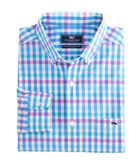 Crystal Reef Check Classic Tucker Shirt