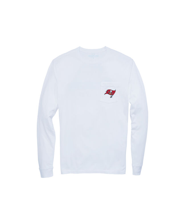 Tampa Bay Buccaneers Long-Sleeve Block Stripe Tee