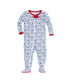 Baby Multi Icon Footed Onesie