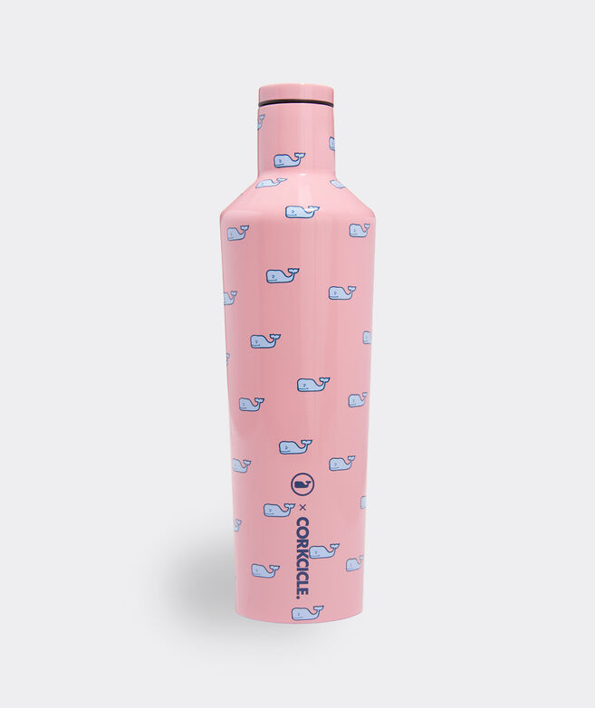 Pink Whale Corkcicle Canteen