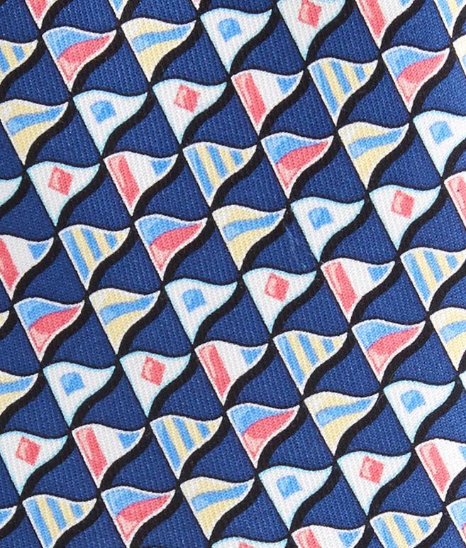 Nautical Flags Tie