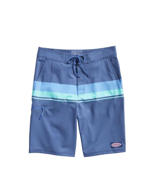 Striped Board Shorts