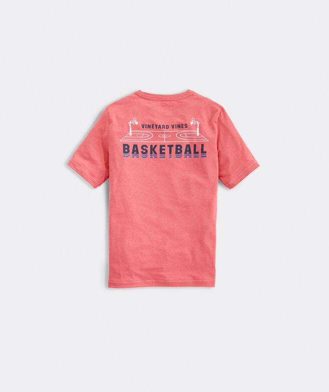 Boys' Basketball Short-Sleeve Performance Tee