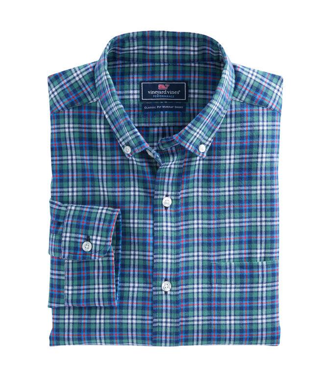 Wimer Plaid Performance Flannel Classic Murray Shirt
