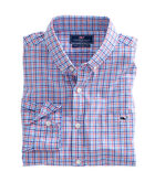 Coconut Point Check Slim Tucker Shirt