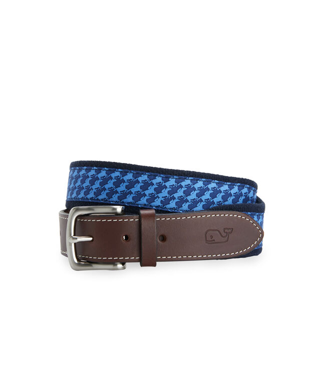 Horse Geo Canvas Club Belt
