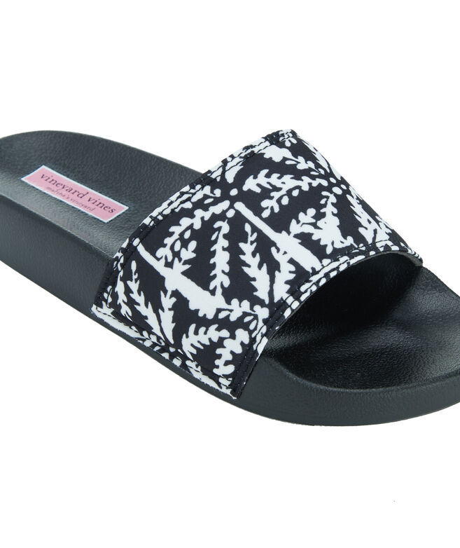 Allover Palm Tree Slides
